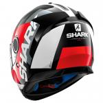 SHARK SPARTAN APICS BLACK/RED/WHITE