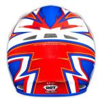 TLD 2015 AIR HELMET CHARGE WHITE/BLUE