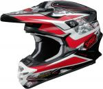 SHOEI VFX-W TURMOIL TC-1 RED