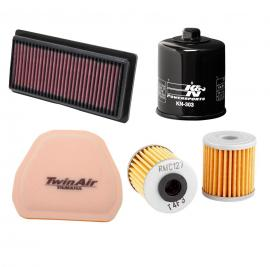 Filters - air, fuel & oil
