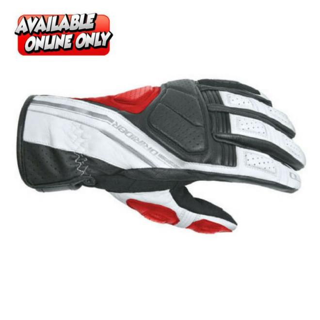 DRIRIDER PHANTOM GLOVES BLACK/RED