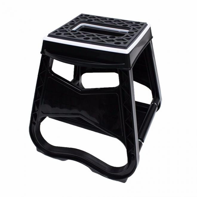 RACER PIT BOX STAND BLACK