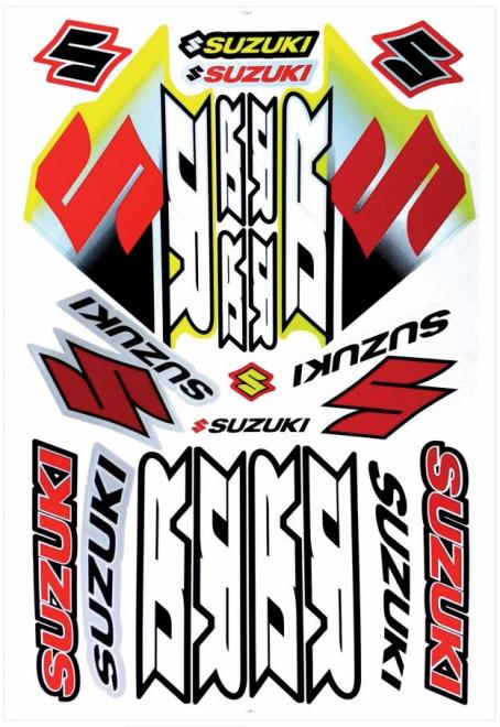 Stickers Decals Suzuki Dr 650 Decal Stickers Kit