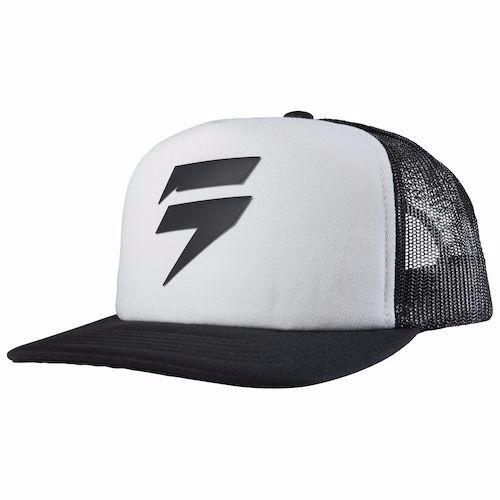 SHIFT CHEKERED TRUCKER WHITE