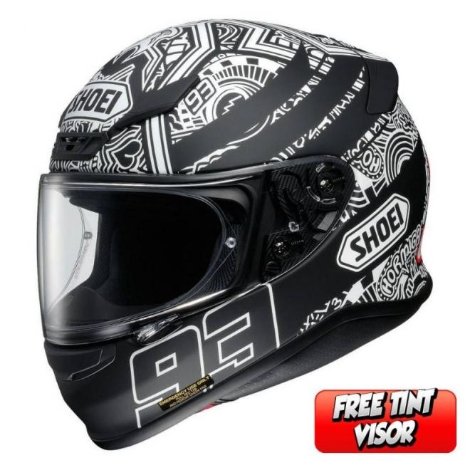 SHOEI NXR MARQUEZ DIGI ANT TC-5 MATT BLACK