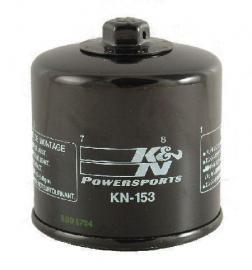 K&N KN-153 OIL FILTER DUCATI 1198R 2009-2010