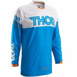 THOR S16 PHASE JERSEY HYPER BLUE