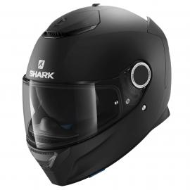 SHARK SPARTAN BLANK MATT BLACK