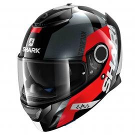 SHARK SPARTAN APICS BLACK/RED/WHITE