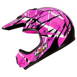 M2R MX1 JR LINEAR PC-7 PINK GIRLS YOUTH