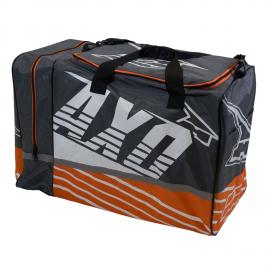 AXO WEEKENDER BAG GREY/ORANGE