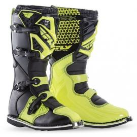 FLY MAVERIK BOOT BLACK/HIVIS YOUTH
