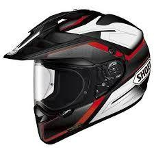 SHOEI HORNET ADVENTURE HELMET SEEKER TC-1 RED