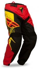 FLY F16 PANT YOUTH BLACK/RED