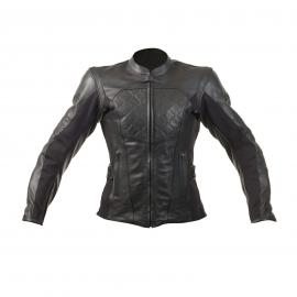 RST MADISON II LADIES LEATHER JACKET BLACK