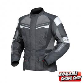 DRIRIDER APEX 4 MENS JACKET WHITE/GREY