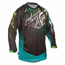 FLY 2016 EVOLUTION JERSEY BLACK/TEAL