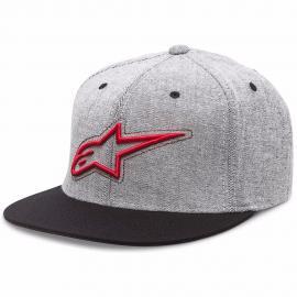 ALPINESTARS BRISK HAT RED GREY BLACK