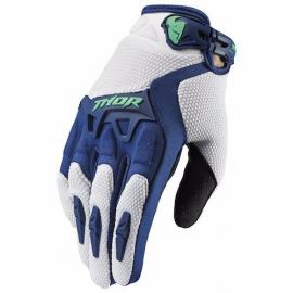 THOR GLOVE WOMENS SPECTRUM NAVY/JADE