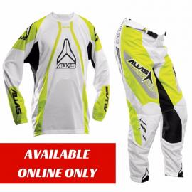 ALIAS A1 JERSEY AND PANTS CHARTRUESE