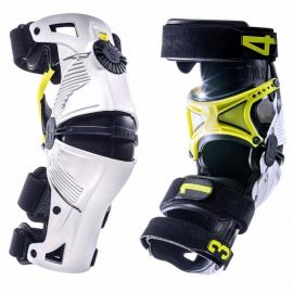 MOBIUS X8 KNEE BRACES WHITE/YELLOW