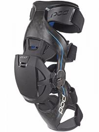 POD K8 CARBON/BLUE KNEE BRACE LEFT