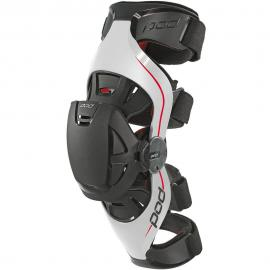 POD K4 GREY/RED KNEE BRACE LEFT