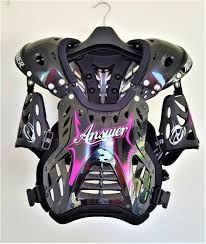 ANSWER GIRLS DEFLECTOR ARMOUR PINK