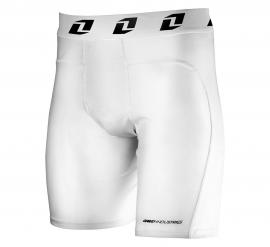 ONE BLASTER COMPRESSION SHORTS WHITE
