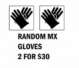 MYSTERY BARGAIN GLOVE BUNCH 2 PAIRS SIZE SMALL