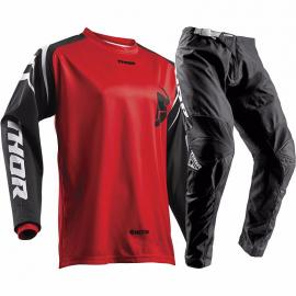 THOR 2018 SECTOR ZONE JERSEY & PANTS RED