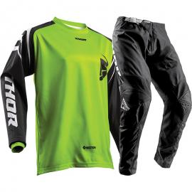 THOR 2018 SECTOR ZONE JERSEY & PANTS LIME