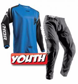 THOR 2018 YOUTH SECTOR ZONE JERSEY & PANTS BLUE