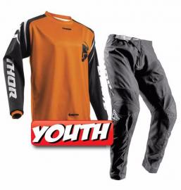 THOR 2018 YOUTH SECTOR ZONE JERSEY & PANTS ORANGE