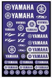 FX YAMAHA STICKER KIT