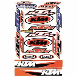 MCS KTM DECAL KIT