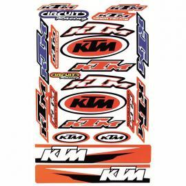 MCS KTM DECAL KIT