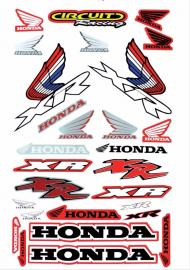 MCS HONDA XR DECAL KIT