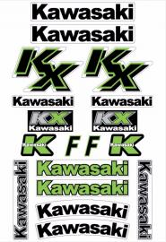MCS KAWASAKI KXF DECAL KIT