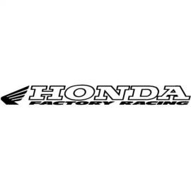 WINDOW STICKER HONDA