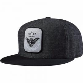 SHIFT FLYING TYRE SNAPBACK GREY
