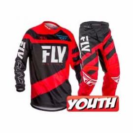 FLY 2018 F-16 YOUTH COMBO RED