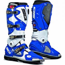 SIDI CROSSFIRE BLUE WHITE 42