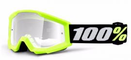 100% STRATA MINI GOGGLE YELLOW