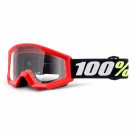 100% STRATA MINI GOGGLE RED