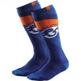 EVS MOTO SOCK COSMIC BLUE