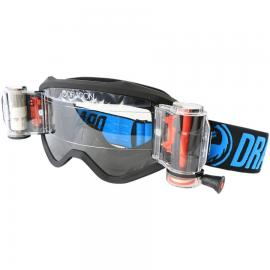 DRAGON MXV RRS BLUE/CLEAR RAPID ROLL