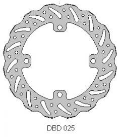 DELTA DISC ROTOR DBD025