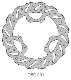 DELTA DISC ROTOR DBD001