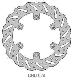 DELTA DISC ROTOR DBD028